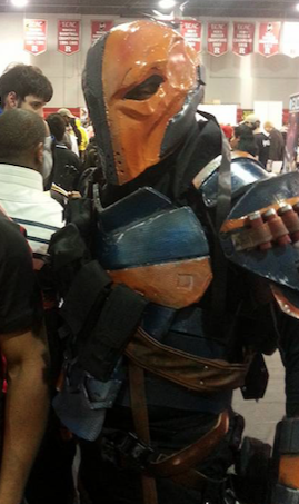 The most bad-ass Deathstroke ever.